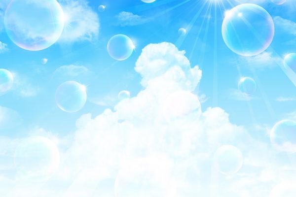 めちゃ綺麗なブルーのフットネイル