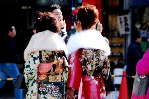 福山市 ネイル Kishimi(キシミー) 成人式はジェルネイルでしょ♪
